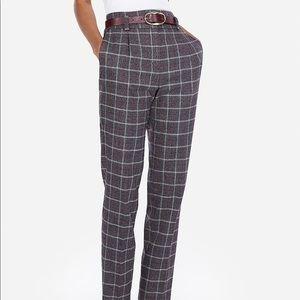 NWOT Express High Waisted Dress Pants, Size 2R